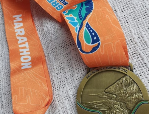 Sharee's GOR marathon experience