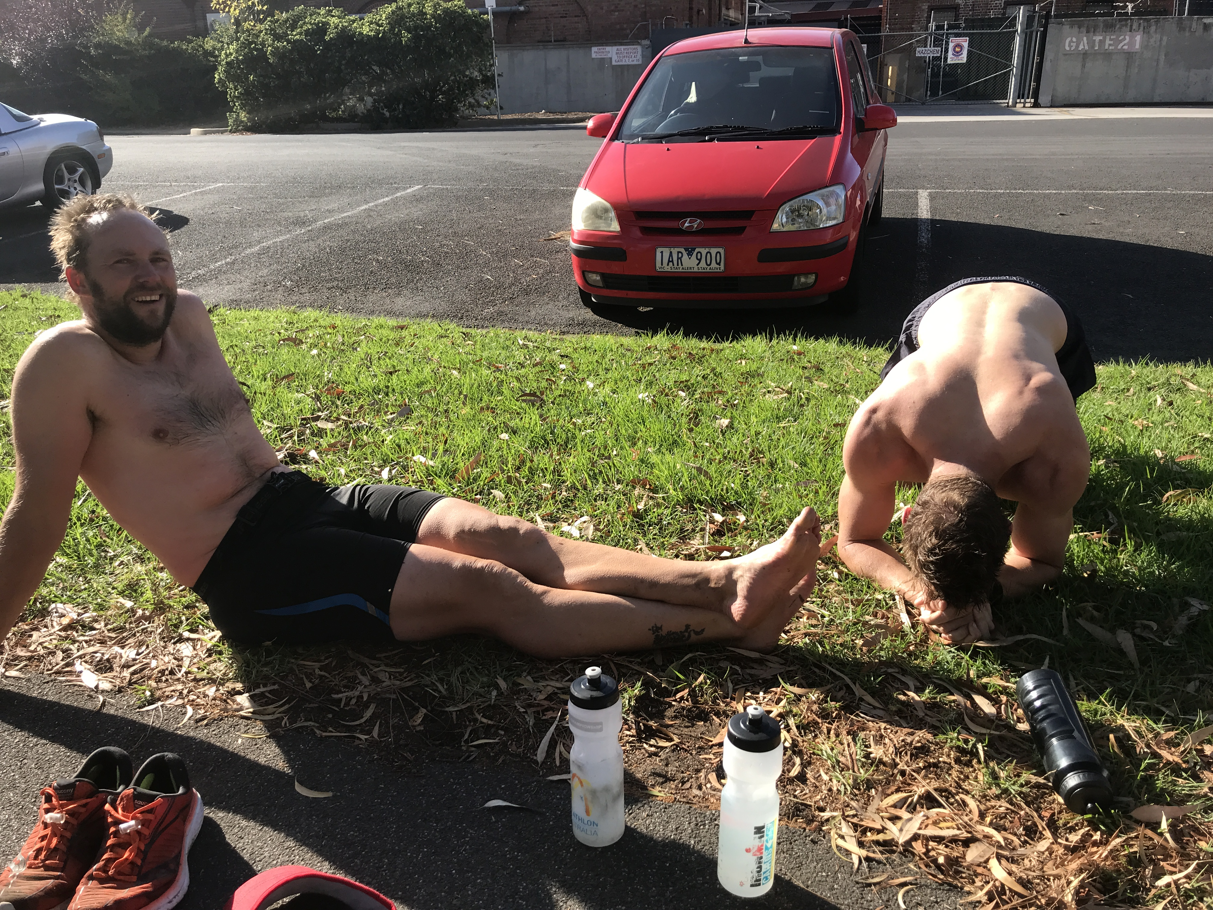 The Injury Clinic – Hydration Testing
